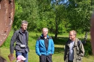 Tore Söderqvist, Mats Wejdmark och Göran Palmqvist